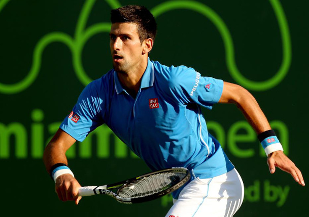 Djokovic Downs Dolgopolov, Advances to Miami Quarterfinals