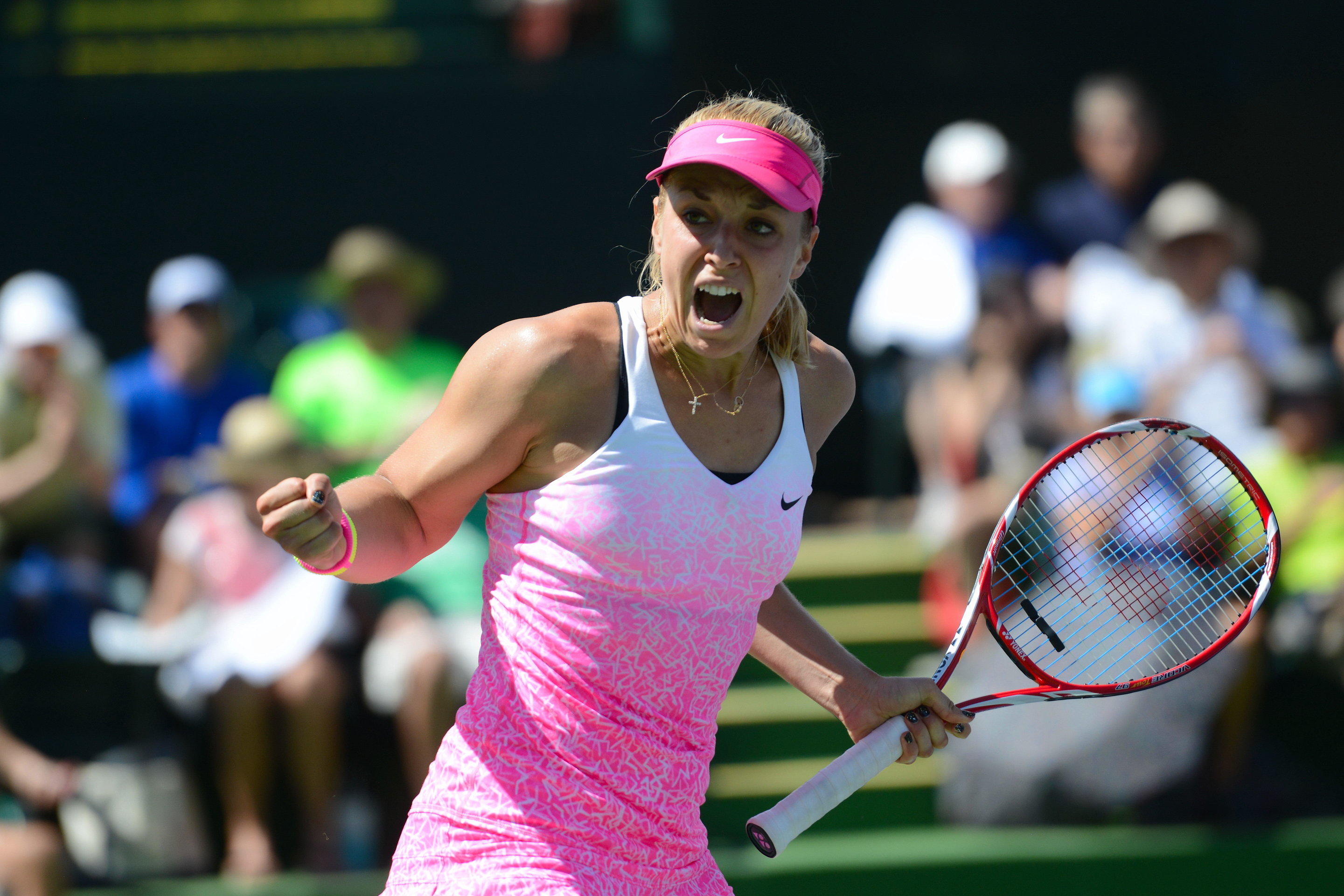 Lisicki Edges Pennetta To Reach Indian Wells Semis