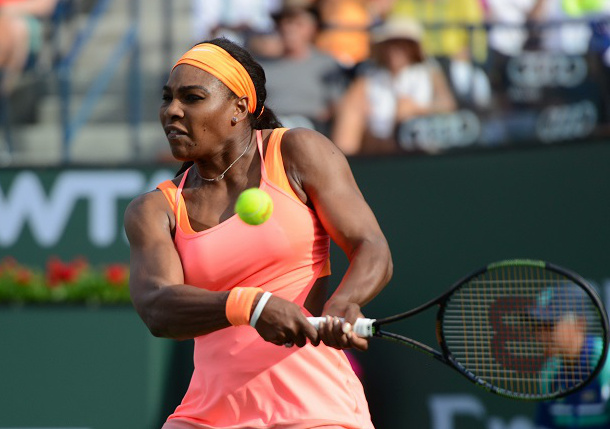 Serena Sweeps Niculescu for 13th Straight Miami Win