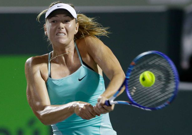 Wild Card Gavrilova Stuns Sharapova in Miami Opener