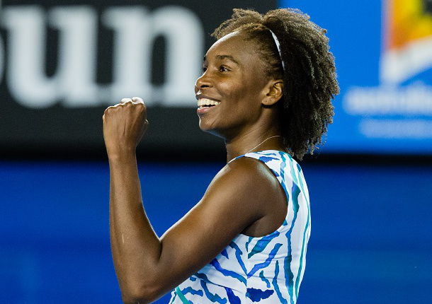 Ageless Venus Williams Praises Kvitova, Ashe and Self