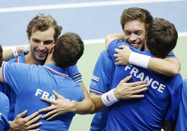 Serbia and France Clinch Davis Cup Quarterfinal Berths