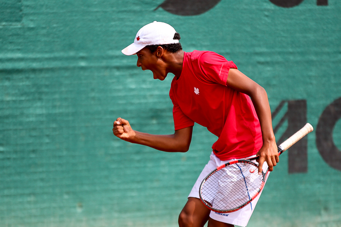 14-Year-Old Canadian Makes ATP Ranking History