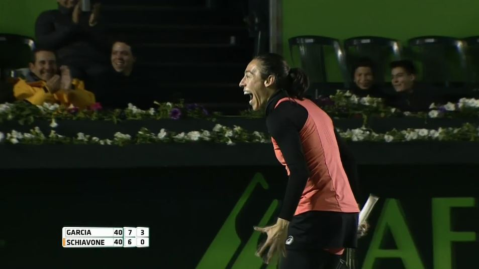 Video: Francesca Schiavone Rips 'Tweener Winner in Monterrey