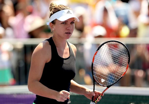 Signs of Life from Stephens, but too Much Game from Halep