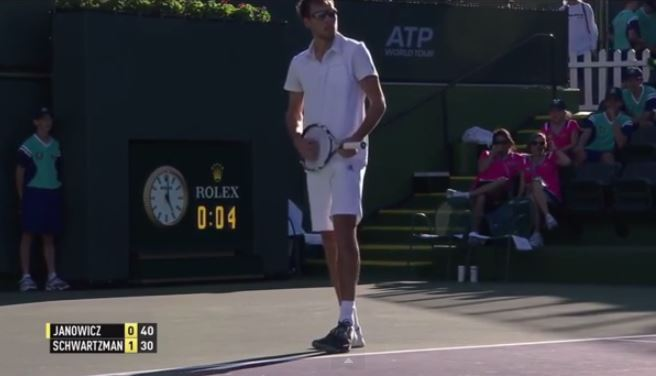 Video: Jerzy Busts out the Air Guitar before Serving