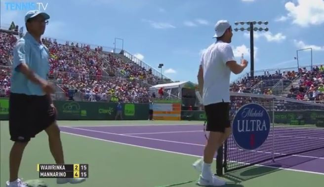 Video: Wawrinka Shows Supreme Sportsmanship vs. Mannarino