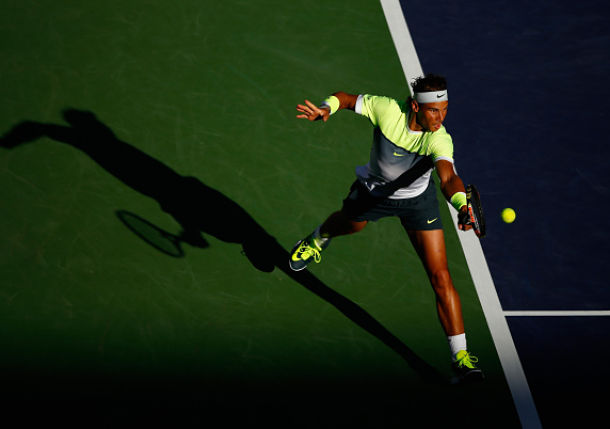 Nadal's Game Coming together in the Desert