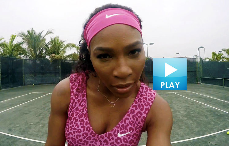 Serena Rocks Beyonce-Del Potro's Miami Return - Caroline Wozniacki Parties with Bryan Brothers