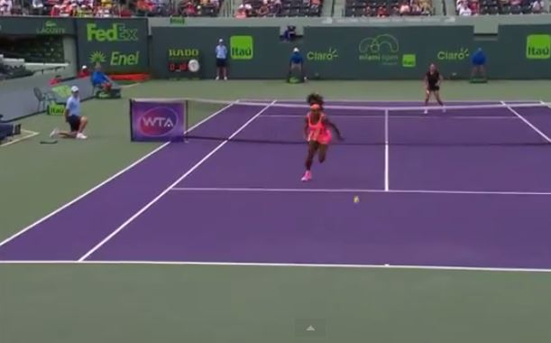 Video: Serena's Got World-Class Wheels
