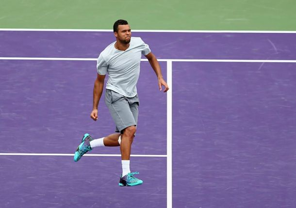 Tsonga's Comeback Begins with Win over Smyczek in Miami