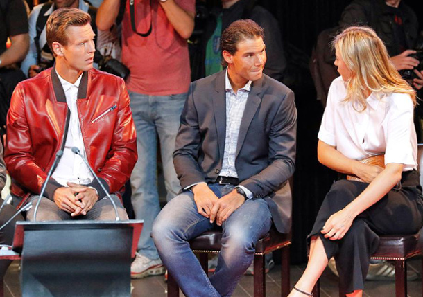 Video: Behind-the-Scenes with Rafael Nadal in Madrid
