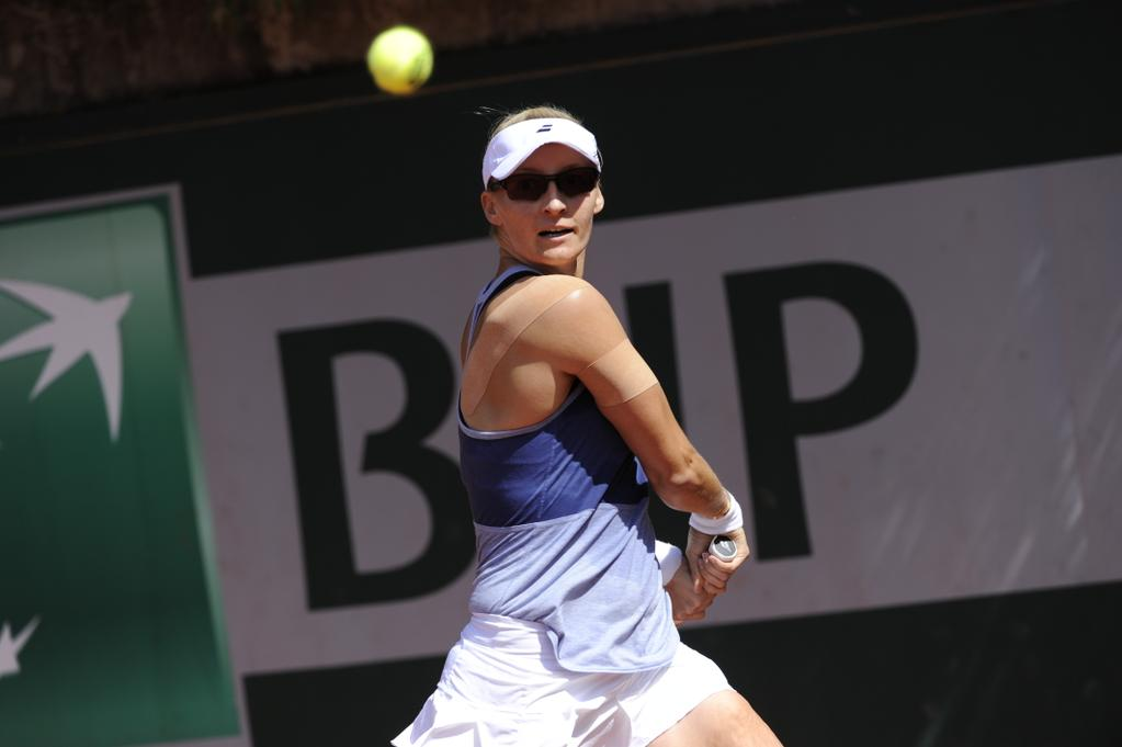 Lucic-Baroni Shocks No. 3 Seed Halep in Roland Garros Second Round
