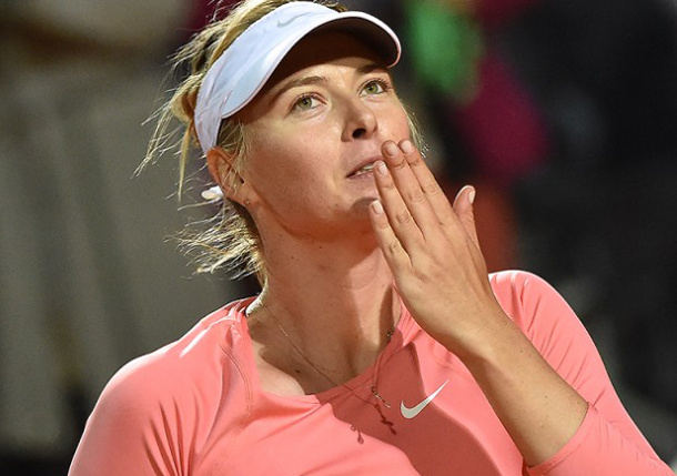 Sharapova Defeats Suarez Navarro to Win Third Rome Title