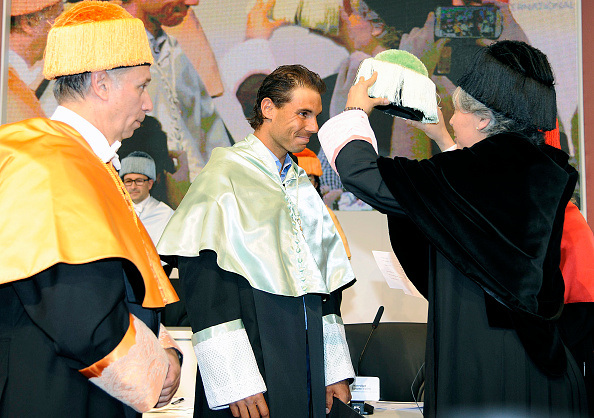 Rafael Nadal Given Honorary Degree in Madrid