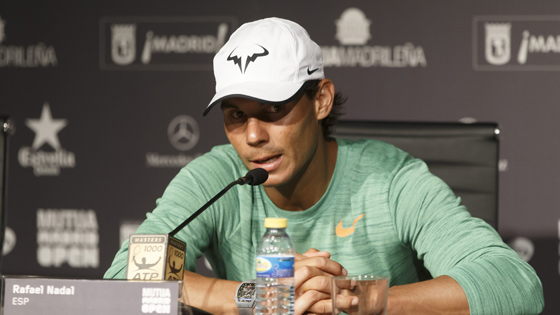 Nadal Talks Racquet Change Before Madrid Open