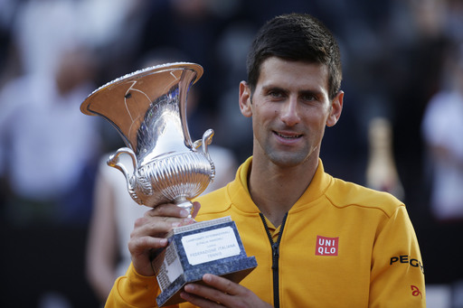 Djokovic Claims Fourth Rome Title Over Federer