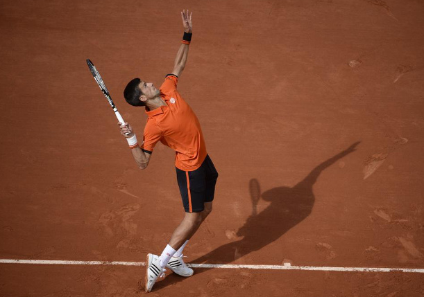 Djokovic Downs Nieminen in French Open First Round