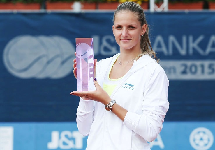 Pliskova Wins Prague Title Over Hradecka