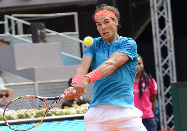 Nadal Defeats Isner to Reach Rome Quarterfinals