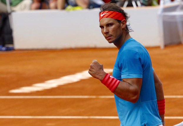 Video: Rafa's Electrifying Spinning High Backhand Volley