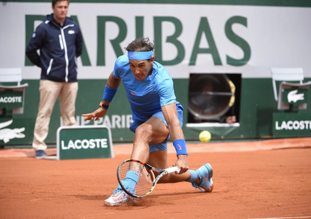 Nadal Slams Almagro to Roll Into Third Round