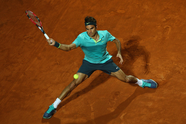 Federer Flies Past Wawrinka To Reach Rome Final