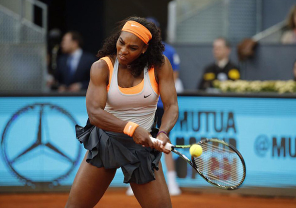 Serena Storms Past Stephens Into Madrid Round of 16