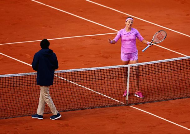After Tough Loss to Serena Williams, Azarenka Makes Case for Instant Replay