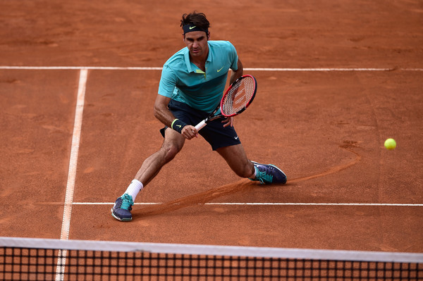 Federer Reaches Rome Quarters