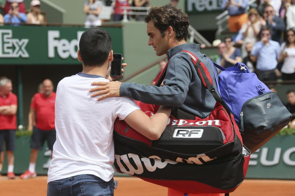Federer Miffed about Lack of Roland Garros Security
