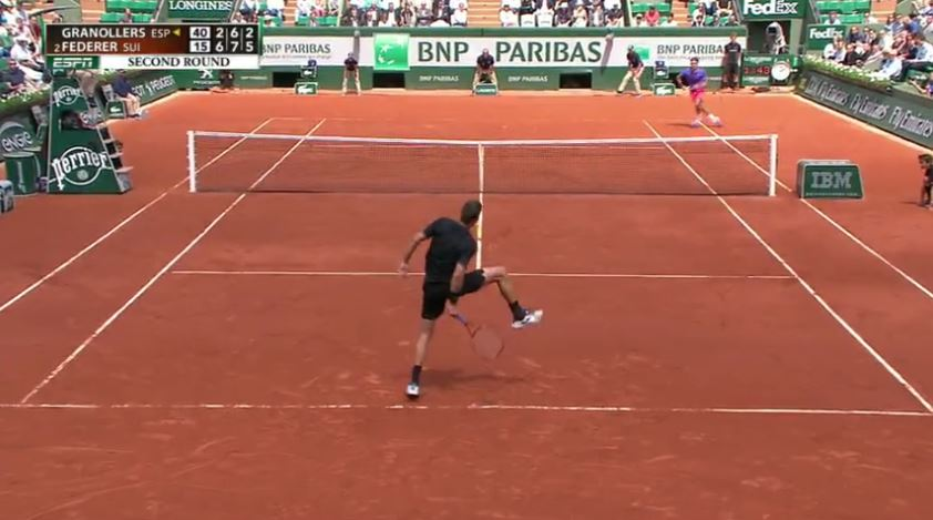 Marcel Granollers Demonstrates How Not to Do a 'Tweener