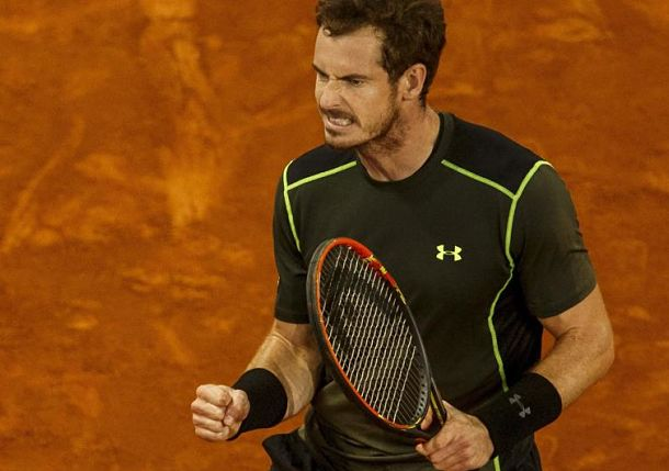 Murray Subdues Ailing Raonic in Madrid