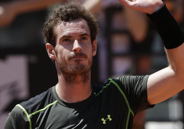 Murray, Nishikori Advance in Rome