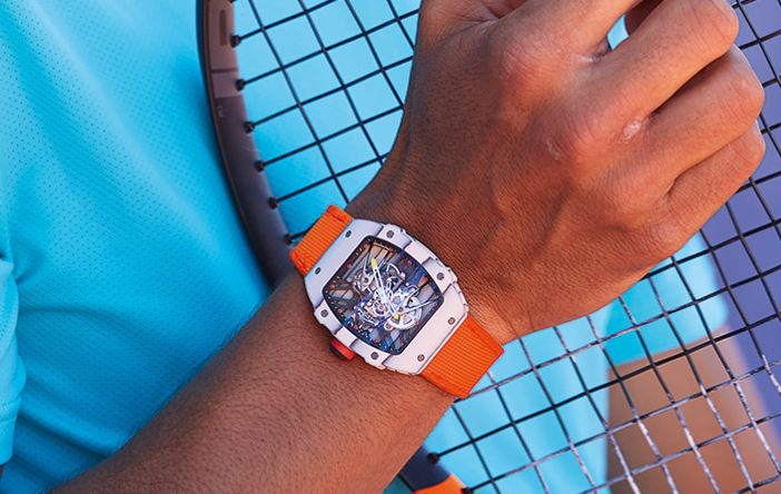Rafael Nadal is Wearing a Ridiculously Cool and Expensive Timepiece at Roland Garros