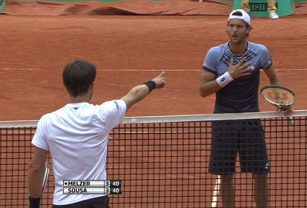 Melzer to Sousa in Geneva: If You Don't Give Me the Point our Friendship Is Over