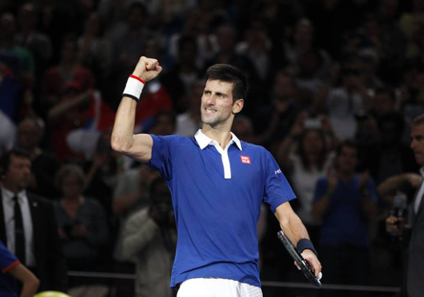 Djokovic Ravages Murray for 10th Title of 2015