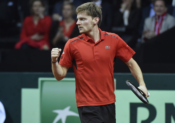 Goffin Fights Off Edmund in Davis Cup Final