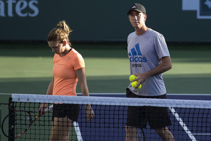 Cahill Will Coach Halep Full Time Next Year