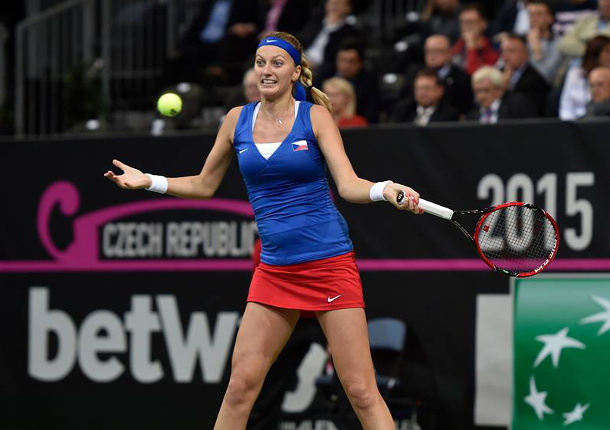 "Kvitova: Davis Cup Changes ""Sad"""