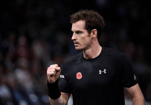 Murray Grounds Gasquet in Paris