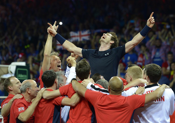 Murray Lifts Great Britain To First Davis Cup in 79 Years