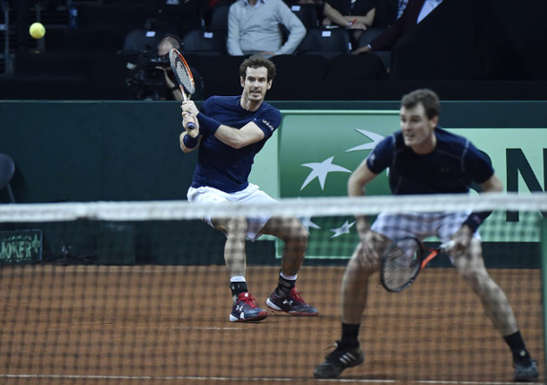 Great Britain One Win From Davis Cup