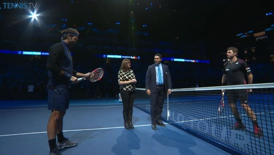 Video: Umpire Ali Nili Tells Federer and Wawrinka no Shots Below Belt