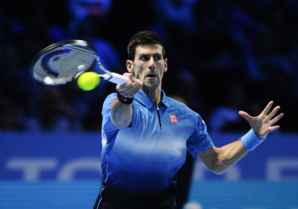 Djokovic Downs Berdych to Reach WTF Semis