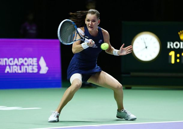 Radwanska Wins WTA Finals Title