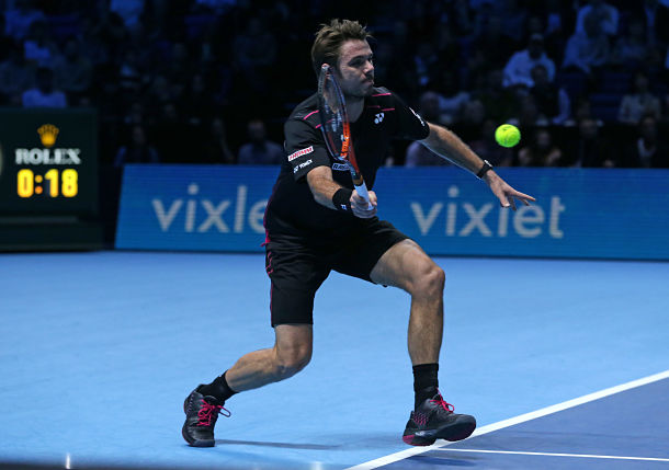 Wawrinka rounds out Final Four at London