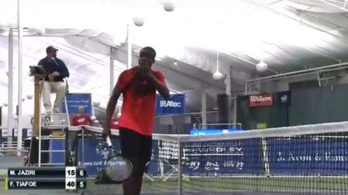Miss of the Decade? Tiafoe Whiffs in Charlottesville