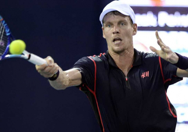 Berdych to Play Garcia-Lopez in Shenzhen Final