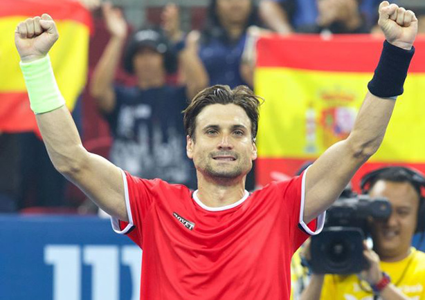 Ferrer Tops Lopez in Malaysian Open Final